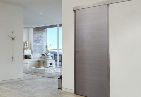 Scegli le porte interne più adatta alle tue esigenze tra le Porte Battenti, Porte scorrevoli, porte a libro, porte raso muro